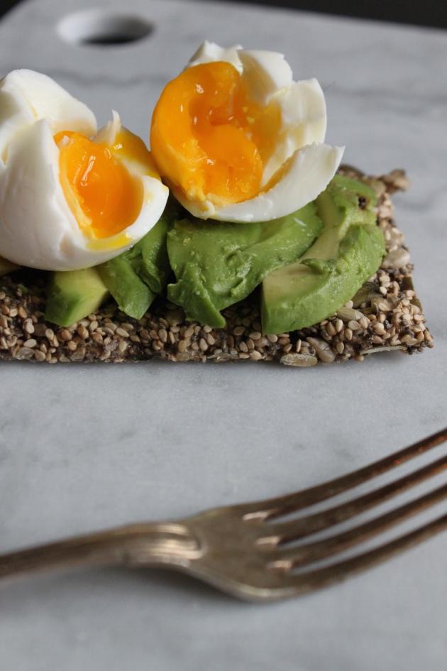 Æg og avocado