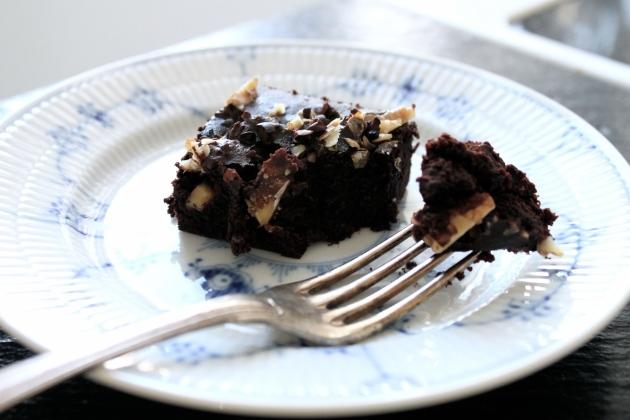 brownies, chokoladekage